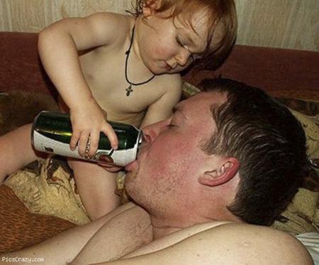 Ah que buenos padres!