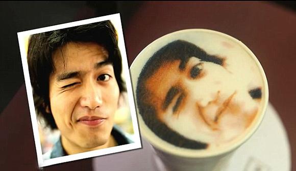 Tu cara en el café