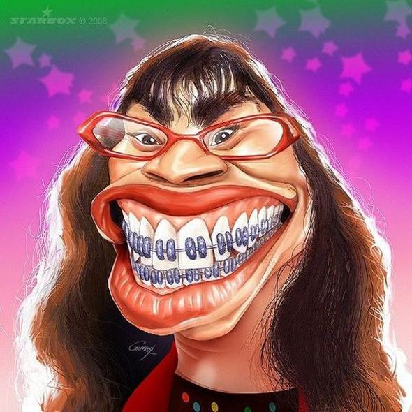 Caricaturas de famosos - Ugly Betty